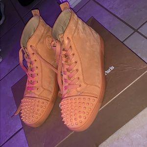 Men's Christian Louboutin hightop sneakers